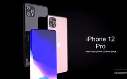 iPhone 12 Pro đẹp hút hồn với màn hình tràn cong 4 cạnh, 3 camera 'siêu to khổng lồ'
