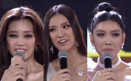 Tân Hoa hậu Hoàn vũ Việt Nam trả lời ứng xử ngắn và ấp úng nhất nhưng vẫn giành chiến thắng