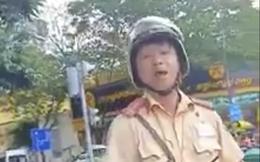 Làm rõ clip CSGT ở TP HCM chửi tục khi bị tài xế quay phim