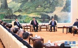 Trước hội nghị Bộ chính trị, ông Tập đã triệu tập nhóm họp với các nhân sĩ ngoài đảng ở Trung Nam Hải