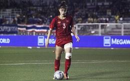 """Nữ cầu thủ VN nén vết đau """"cháy thịt"""" đoạt HCV: Cờ Tổ quốc trên tim không cho em chùn bước"""