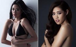 Lộ ảnh bán nude của Hoa hậu Hoàn vũ Việt Nam Khánh Vân