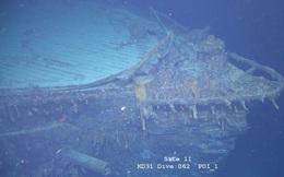 Phát hiện tàu chiến nổi tiếng trong Thế chiến I chìm dưới đáy Đại Tây Dương