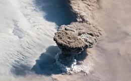 Kinh ngạc hình ảnh siêu bão, núi lửa phun trào nhìn từ Trạm Vũ trụ Quốc tế