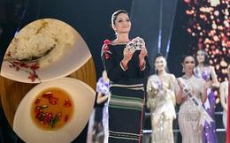 Cuộc sống không ai đưa đón và bữa ăn đạm bạc của H'Hen Niê sau 1 ngày hết nhiệm kì hoa hậu