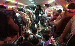 Bên trong những chuyến xe khách ngày cận tết khiến nhiều người ám ảnh