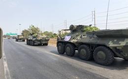 Báo Thái Lan: Dân hoang mang khi phát hiện đoàn xe bọc thép, cảnh sát được điều động khẩn