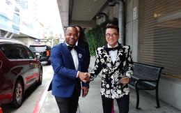 Đàm Vĩnh Hưng mặc hàng hiệu sang chảnh, bất ngờ xuất hiện tại lễ trao giải Grammy 2019