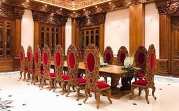 Rò rỉ hình ảnh xa hoa bên trong lâu đài 7 tầng của gia đình cô dâu xinh đẹp nổi tiếng Nam Định