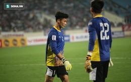 Bùi Tiến Dũng dự bị trong ngày Hà Nội FC đại chiến đội bóng Thái Lan