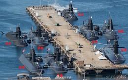 """Hải quân Nhật Bản """"gây choáng"""" cho Trung Quốc bởi quy mô hạm đội tàu ngầm"""