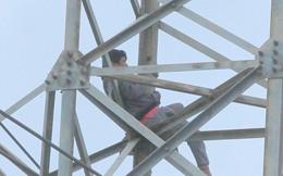 Hải Phòng: 36 giờ giải cứu kẻ ngáo đá leo cột điện cao thế