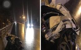 Truy tìm ô tô bỏ chạy sau khi đâm xe máy khiến 2 người tử vong trên đường phố Hà Nội
