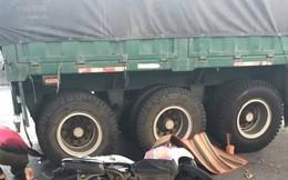 Người phụ nữ bị xe container cán chết