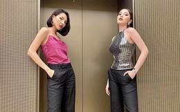 Hoa hậu Kỳ Duyên mặc đồ đôi, tiết lộ rất cảm kích Minh Triệu