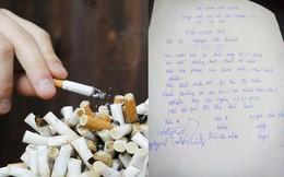 Xôn xao bản cam kết chồng bỏ thuốc lá trong 3 tháng, vợ hứa thưởng 20 triệu đồng