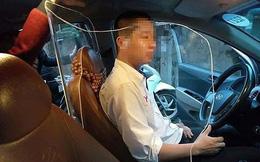 Lái xe taxi tự lắp khoang chắn bảo vệ: Không cẩn thận lại bị phạt nặng!