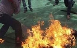 Bình Phước: Nghi án vợ tưới xăng phóng hỏa giết chồng