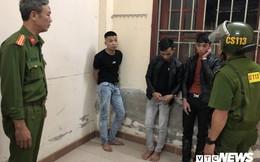Lực lượng 911 khóa tay hàng chục thanh niên mang vũ khí, ma túy đi trong đêm ở Đà Nẵng