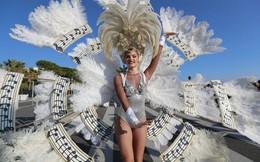 7 ngày qua ảnh: Nữ vũ công khoe vẻ đẹp nóng bỏng trong lễ hội hóa trang ở Pháp