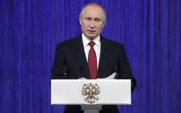 Phát biểu đầy tự tin của TT Putin về vũ khí Nga