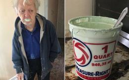 """Thấy thùng sơn ở nhà vơi đi 1 nửa, cô gái tìm hiểu thì phát hiện ra 1 """"thủ phạm"""" không ngờ"""