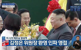 Tiết lộ thân phận cô gái Việt Nam tặng hoa Chủ tịch Triều Tiên Kim Jong Un ở ga Đồng Đăng