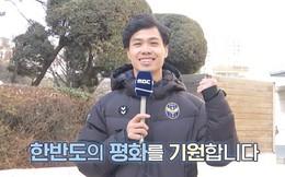 Công Phượng lên truyền hình Hàn Quốc dự báo thời tiết Hà Nội ngày thượng đỉnh Mỹ - Triều