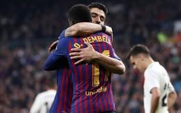 """Barcelona """"vùi dập"""" Real Madrid trong trận đấu có thống kê không tưởng"""