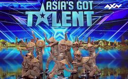 """Asia's Got Talent: Nhóm nhảy Việt đội nón lá, mặc áo bà ba diễn """"Điệu vũ nông dân"""" gây bất ngờ"""