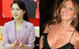 Vẻ đẹp đối lập của hai Đệ nhất phu nhân Mỹ và Triều Tiên