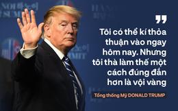 """Tổng thống Trump: """"Mối quan hệ Mỹ - Triều Tiên rất mạnh mẽ, nhưng đôi lúc bạn phải học cách bỏ qua"""""""