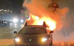 Chi 300 triệu bảo dưỡng Lamborghini, thanh niên vừa lái thử thì xe nổ tung suýt chết
