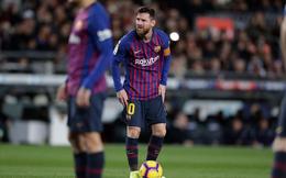 Ghi 2 bàn, Messi vẫn không tránh khỏi nỗi buồn ngay tại Camp Nou