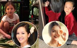 Dàn nhóc tỳ nhà sao Việt hào hứng gói bánh chưng, trang hoàng nhà cửa đón Tết nguyên đán 2019