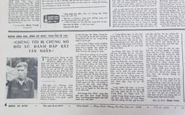 """Báo QĐND năm 1979 viết về chiến tranh biên giới: """"Chúng tôi bị nó đối xử, đánh đập rất tàn nhẫn"""""""