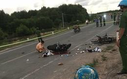 2 xe máy đâm nhau kinh hoàng, 2 người chết, 2 người bị thương chiều mùng 1 Tết Kỷ Hợi