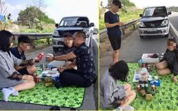 Người livestream cảnh gia đình ăn nhậu trên cao tốc Nội Bài - Lào Cai trưa mùng 2 Tết xin lỗi