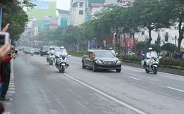 Lịch cấm đường chi tiết tại Hà Nội phục vụ chuyến thăm của ông Kim Jong-un
