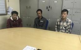 3 đối tượng phạm tội người Trung Quốc bị tóm gọn tại TP. Móng Cái