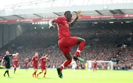 Ngược dòng thành công, Liverpool bám đuổi Man City bằng trận đấu đầy rẫy sai lầm