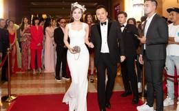 Hoa hậu Hoàng Dung xuất hiện với thần thái sang trọng và trang phục gây chú ý