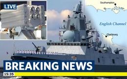 Báo Anh hoảng loạn khi chiến hạm Nga mang vũ khí gây ảo giác áp sát