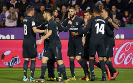 Trút mưa bàn thắng, Real Madrid níu kéo hi vọng cuối cùng của mùa giải