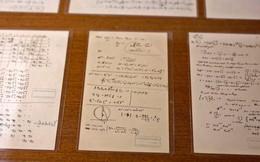 Phát hiện thêm 110 trang bản thảo viết tay của thiên tài vĩ đại Albert Einstein