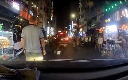 Truy xét nhóm thanh niên đánh tài xế ô tô gây náo loạn phố Tây Bùi Viện
