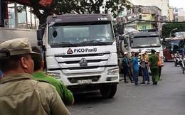Thanh niên tử vong dưới xe tải ở Sài Gòn