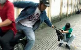 Kẻ cướp bị người ngoại quốc cùng đặc nhiệm khống chế trên phố Sài Gòn