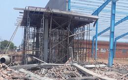Hiện trường vụ sập tường làm 6 người chết ở Vĩnh Long