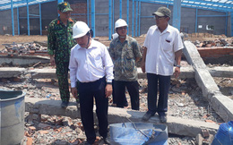 Khởi tố vụ án sập bức tường công trình xây dựng khiến 6 người tử vong ở Vĩnh Long